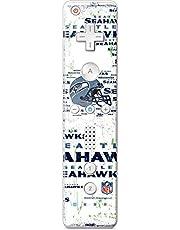 NFL Seattle Seahawks Wii Remote Controller Skin - Seattle Seahawks - Blast White Vinyl Decal Skin For Your Wii Remote Controller