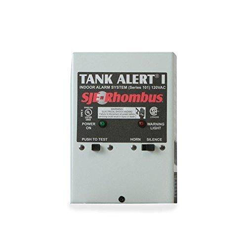 Float System - SJE Rhombus 1005419 Tank Alert I- 101-02X, 230 VAC No Float