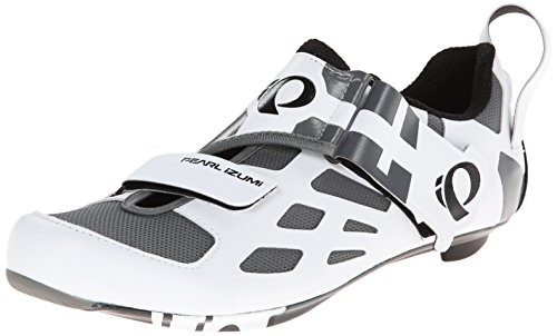 Pearl Izumi Men's Tri Fly V Carbon Cycling Shoe - White/B...