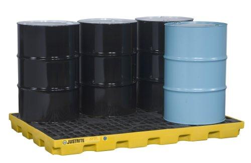 Justrite 28658 EcoPolyBlend 73 Gallon Sump, 73