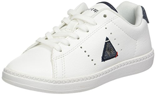 Tones S Sportif Courtone Dress Coq 2 Optical Lea White Le Baskets Basses Blanc GS Garçon I0xFwpZ