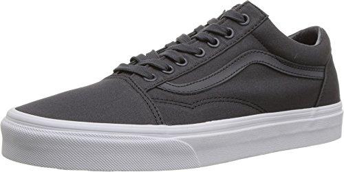 (Vans Unisex Old Skool Classic Skate Shoes (3.5 D(M) US Men / 5 B(M) US Women, (Mono Canvas) Asphalt))