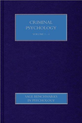 Criminal Psychology Books Pdf