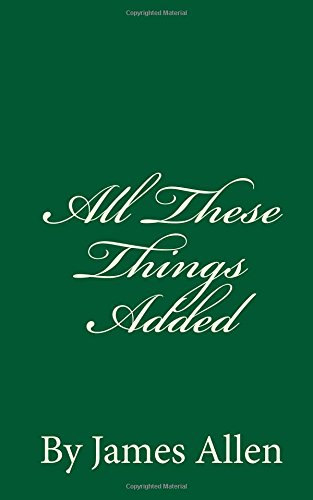 All These Things Added By James Allen pdf epub