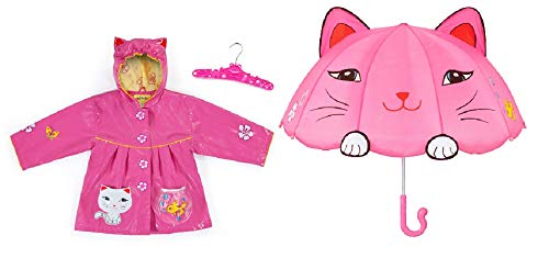 Kidorable Cat Raincoat & Cat Umbrella Set (4/5)