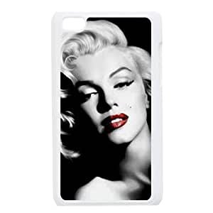 iPod Touch 4 Cell Phone Case White Marilyn Monroe AFK342877