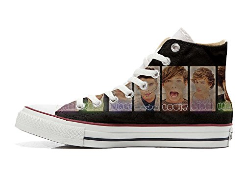 Converse All Star personalisierte Schuhe - HANDMADE SHOES - One Direction