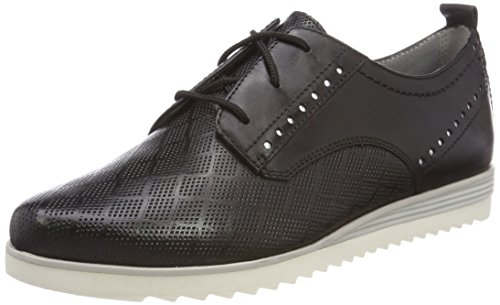 Brouge 23740 Nero black Scarpe Natural Stringate Be Donna 6qIwC