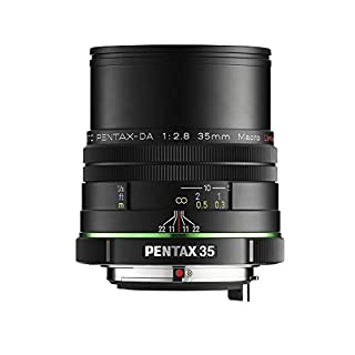 Pentax K-Mount HD DA 35mm f/2.8 Macro 35-35mm Fixed Lens for Pentax KAF Cameras (Limited Black) - DA 35 F2.8 MACRO BLACK (B00EZJPU48) | Amazon price tracker / tracking, Amazon price history charts, Amazon price watches, Amazon price drop alerts