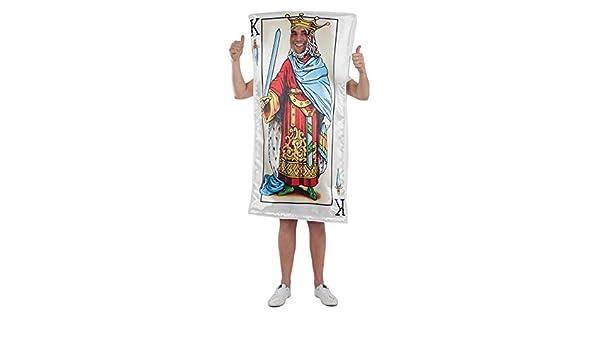 DISBACANAL Disfraz de Carta Rey de Espadas - -, XL: Amazon.es ...