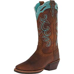 Justin Boots Women's Silver Collection