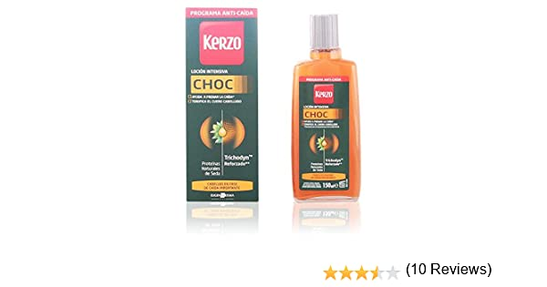 Kerzo Loción Intensiva Choc Tratamiento Anti-Caída 150 ml 150 g ...