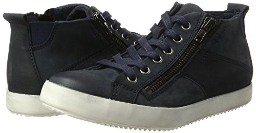 Tamaris Blue Hi top Sneakers 25295 Women''s 805 navy 8OUqw8r