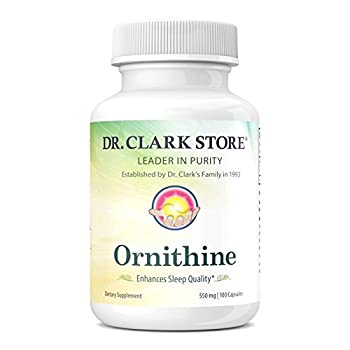 Ornithine, 500 MG, 100 Capsules