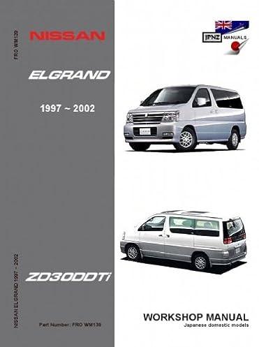 Zd30ddti manual 1 of 4free shipping array nissan elgrand e50 zd30ddti workshop manual 1997 2002 amazon co uk rh amazon co fandeluxe Gallery