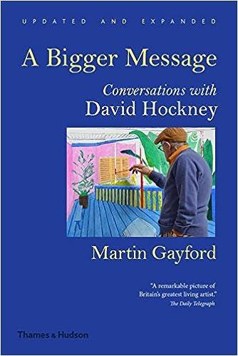 A bigger message conversations with David Hockney