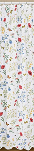 Cape May Box Park Designs Wildflower Shower Curtain, 72 b...