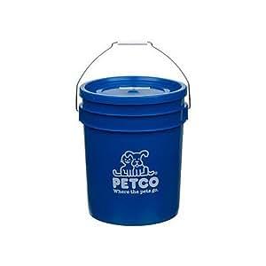 Petco Bucket, Color: Blue