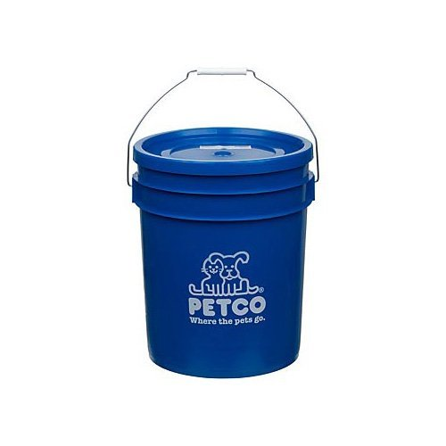 (Petco Bucket, 5 GAL, Blue)