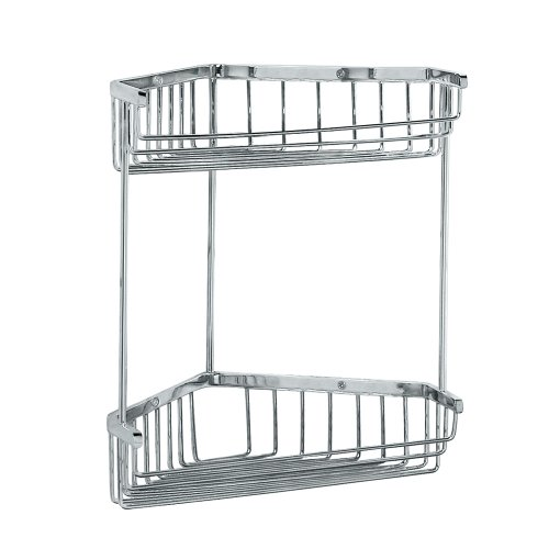 Gatco 1475 Tub and Shower Corner Caddy, (Gatco Satin Shower Caddy)