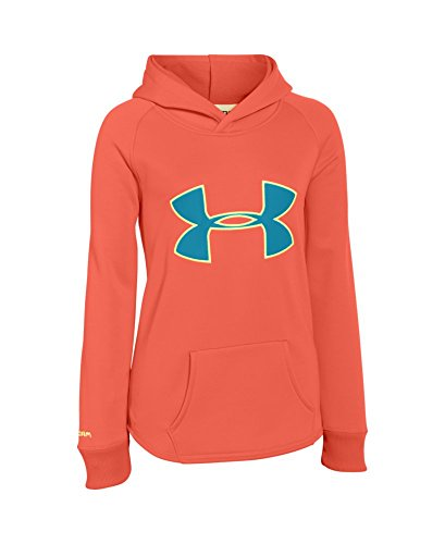 Under Armour Girls' UA Storm Rival Hoodie X-Large / 18-20 Big Kids AFTER BURN by Under Armour