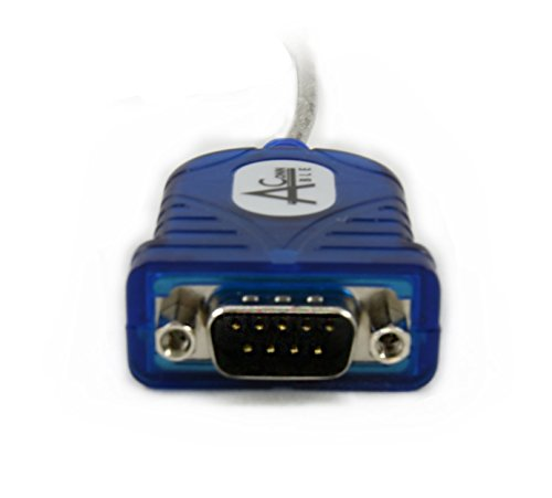 Ableconn USB232DB9 USB to RS-232 DB9 Serial Adapter Cable (Prolific PL2303HXD Chipset) - USB serial data communication by Ableconn (Image #1)
