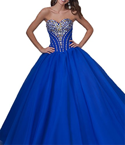 vestidos royal blue - 3
