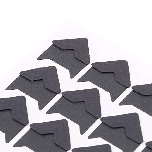 SOURBAN 24pcs Kraft Paper Photo Corner,Black by SOURBAN (Image #1)