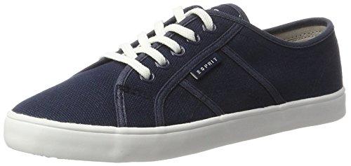 ESPRIT Italia Lace Up, Zapatillas para Mujer Azul (Navy 400)