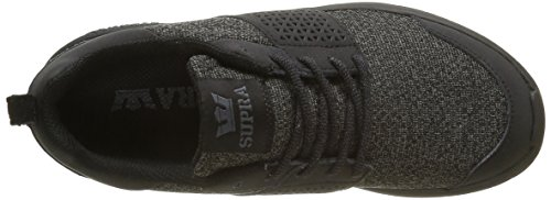Supra Woven Black Mesh Scissor Women's Shoes '18 wT1q4