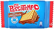 Biscoito, Mini Wafer, Chocolate, Passatempo, 20g
