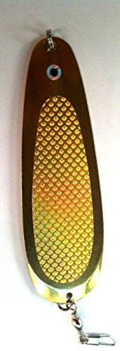 Ultralights Nickel Plate - Montana Tackle Company 4.5-inch Ultralight Trout & Kokanee Dodger: Gold Prism/Brass
