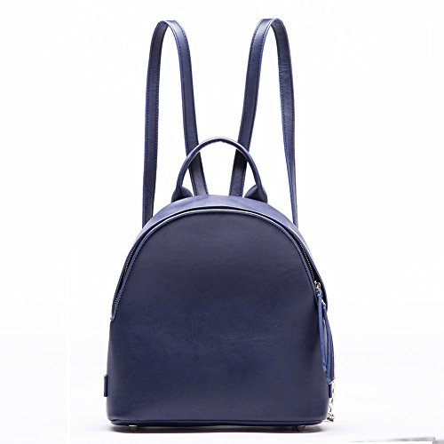 Miss Fong Desinger Women Designer Backpack Purse Simple Designs Fashion Small Backpack Purse Azul