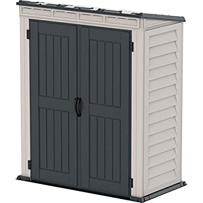 Duramax YardMate 5x3 Plastic Storage Shed Pent Roof