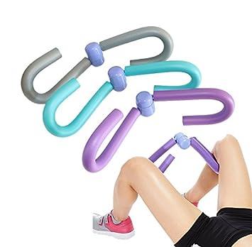 Pierna Ejercicio Entrenamiento máquinas de piernas músculos de la pierna delgada muslos brazo espalda para pérdida de peso o Fitness, morado: Amazon.es: ...