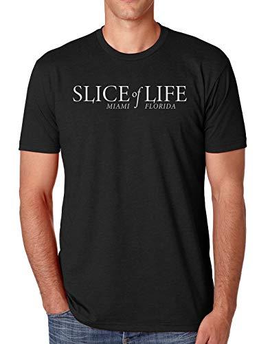Slice of Life Dexter Men's Athletic Fit Shirt (Medium, Black)