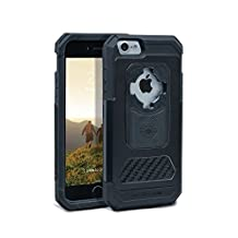 Rokform iPhone 7 Aluminum & Carbon Fiber Fuzion PRO Series Protective Phone Case includes universal magnetic car mount and Patented twist lock. Made in USA (Black)