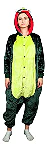 Emolly Adult Animal Dinosaur Onesie Pajamas Costume