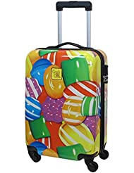 Candy Crush Cabin Bag Close Up Candy Small, Multi-Colored, One Size