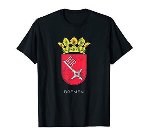 Bremen German Coat of arm Germany Deutsch Shirt