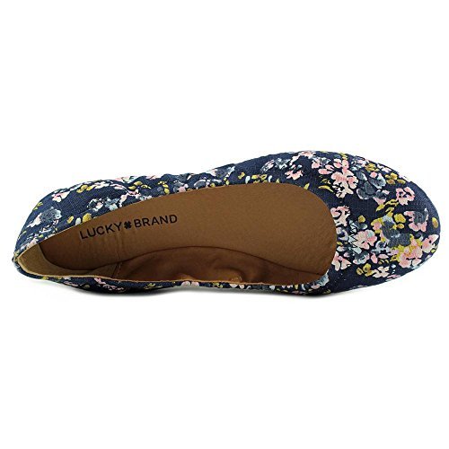 Lucky Brand Emmie Women US 8.5 Blue Ballet Flats