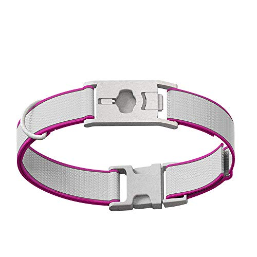 Whistle GO/GO Explore/Twist & Go Pet Collars/See Me Pink/Medium-Large from Whistle