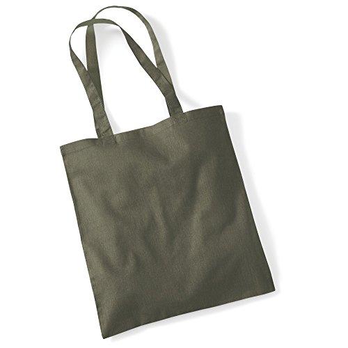 """Westford Mill- Promoción bolsa básica """"Bolsa para la vida""""- capacidad 10 litros multicolor - Olive"""
