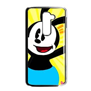 LG G2 phone case Black Disney Trolley Troubles Character Oswald the Lucky Rabbit UUA6222056
