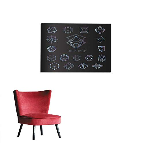 Photo Wall Paper Sacred Geometry Forms Shapes of Lines Logo Sign Symbol Mural 24