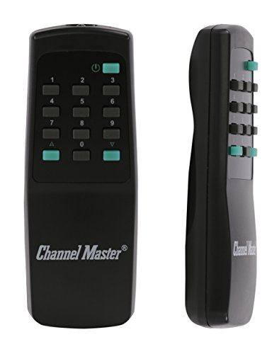 Channel Master CM-9521HD Complete Antenna Rotator System with Outdoor Drive  Unit, Indoor Control Box and Remote Control - TV, HAM, CB, WiFi, Radio