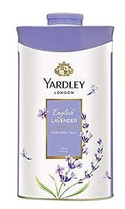 Yardley London English Lavender Perfumed Talcum Powder for Women, 250 gm