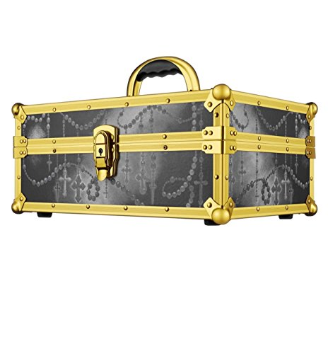 KAT VON D KVD 10th ANNIVERSARY TRAINCASE TRAIN CASE COSMETICS - Anniversary Train