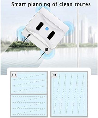 ZZXX Ménage fenêtre Propre Robot Intelligent Window App Cleaner Télécommande Automatique Fenêtre Itinéraire de Nettoyage Dispositif pour Home Office Restaurant