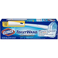 Clorox ToiletWand,Disposable Toilet Cleaning Rainforest Rush Refill